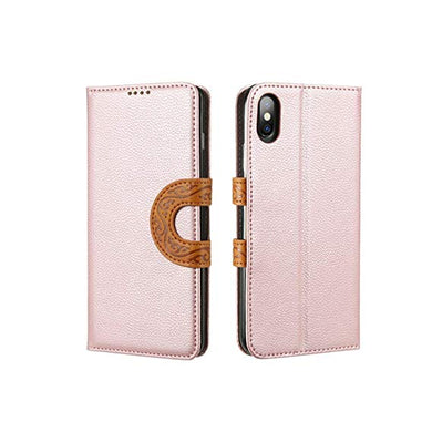 leather brown coque iphone 6 credit card