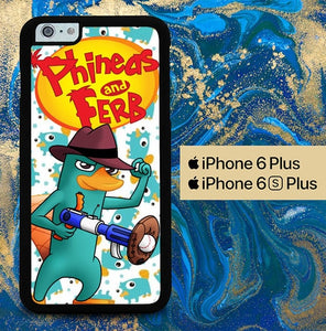perry platypus W3174 coque iPhone 6 Plus, 6S Plus