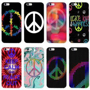 peace sign coque iphone 6