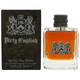 Dirty English by Juicy Couture, 3.4 oz Eau De Toilette Spray for Men