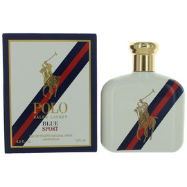 Polo Blue SPORT by Ralph Lauren, 4.2 oz Eau De Toilette Spray for Men