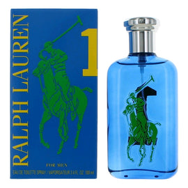 Polo Big Pony Blue #1 by Ralph Lauren, 3.4 oz Eau De Toilette Spray for Men