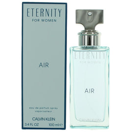 Eternity Air by Calvin Klein, 3.4 oz Eau De Parfum Spray for Women