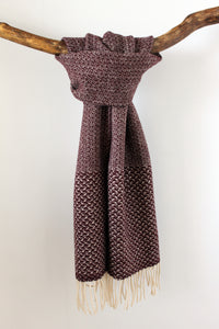 Scarf Swallow Bordeaux