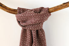 Load image into Gallery viewer, Scarf Thorn Bordeaux
