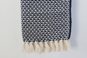 Scarf Swallow Dark Blue