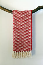 Load image into Gallery viewer, Scarf Swallow Red