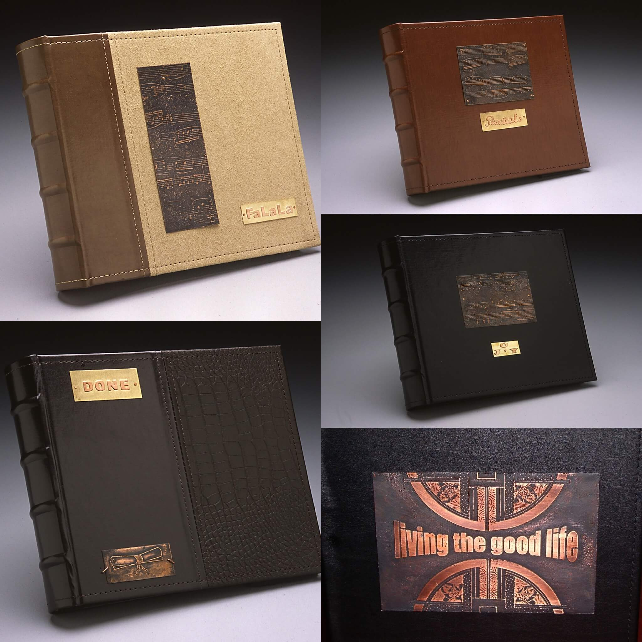 Etched Journal and Scrapbook Cover Plates