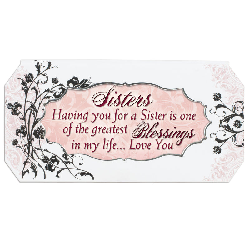 Sister Simply Classic Petite Belle Papier Musical Keepsake Jewelry Box - Plays Song That's What Friends Are For