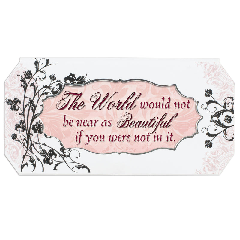 Just Because Simply Classic Petite Belle Papier Musical Keepsake Jewelry Box - Plays Song Wonderful World