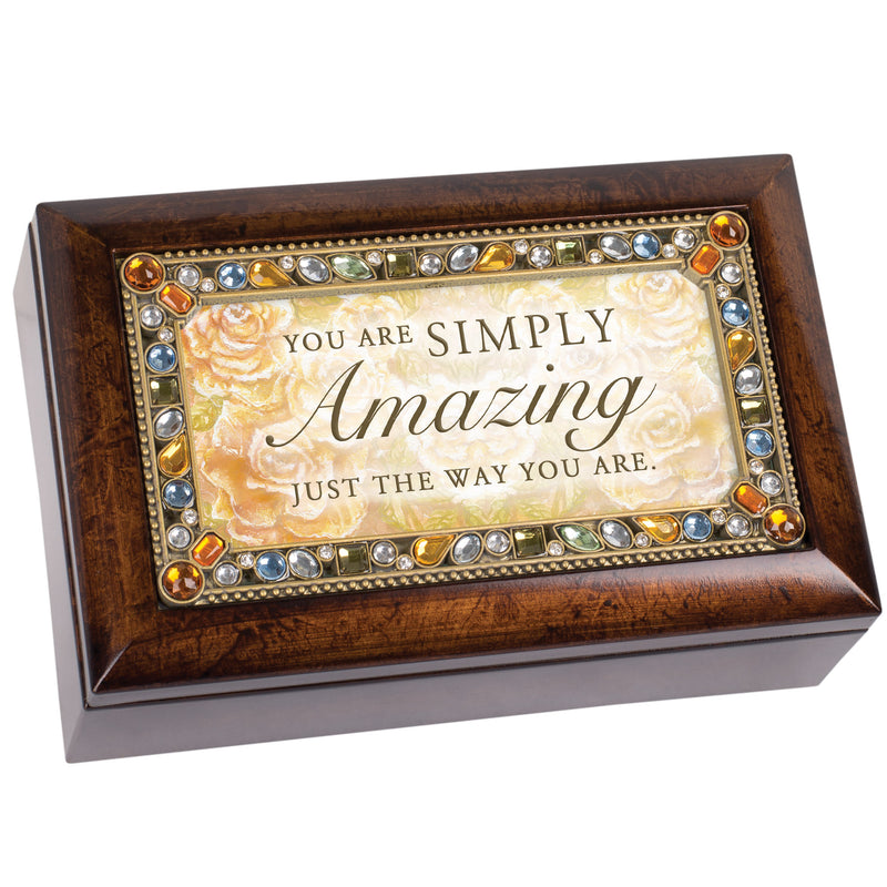 You Are Simply Amazing Amber Jewelry Petite Music Box Plays You Light Up My Life