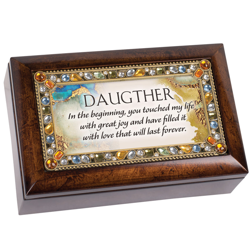 Daughter You Fill My Life With Joy Amber Jewelry Petite Music Box Plays You Are My Sunshine