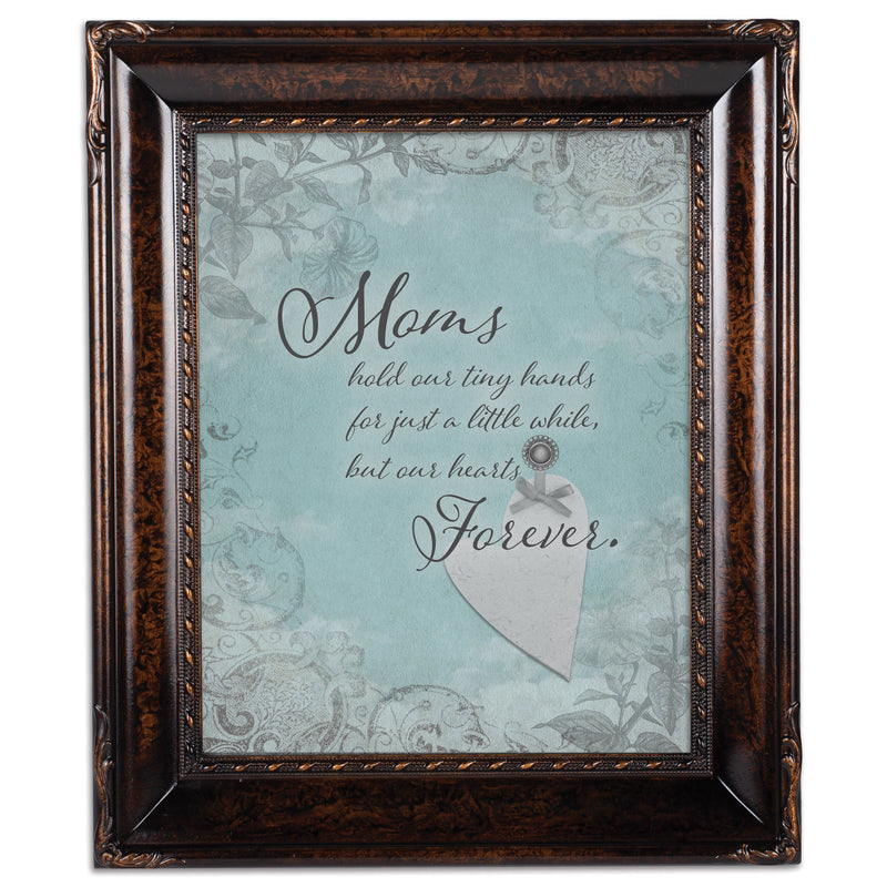 Mom Hold Our Hands Amber  8 x 10  Wall And Tabletop Photo Frame