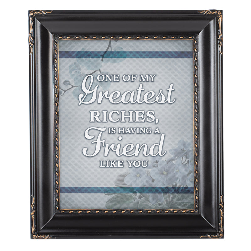 A Friend Like You Solid Black 8 x 10  Wall And Tabletop Photo Frame