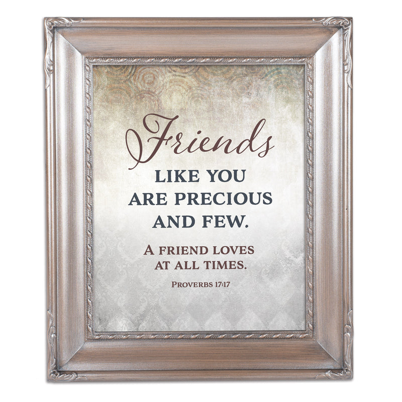 Friends Precious  Silver Greybrush 8 x 10  Wall And Tabletop Photo Frame