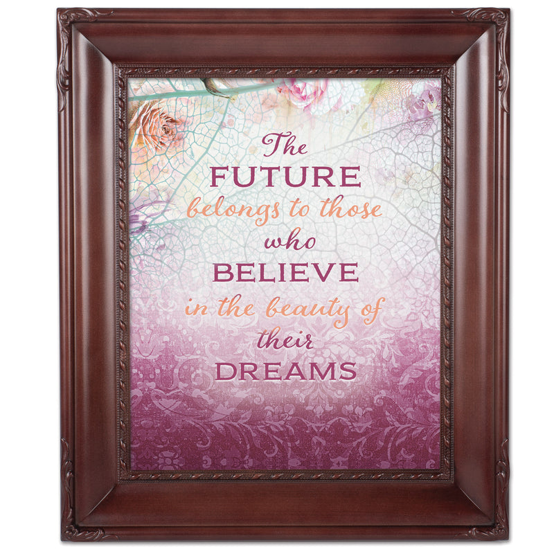 Belongs Who Believe Mahogny 8 x 10  Wall And Tabletop Photo Frame