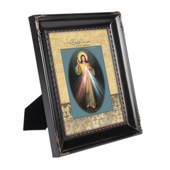 My Light and Salvation Black Rope Trim 8 x 10 Table Top and Wall Photo Frame