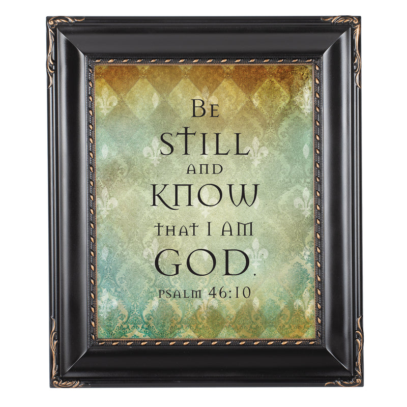 Be Still Black Rope Trim 8 x 10 Table Top and Wall Photo Frame