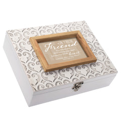 True Friend Touches Your Heart Moroccan Mosaic Stone Music Box Plays Friend In Jesus