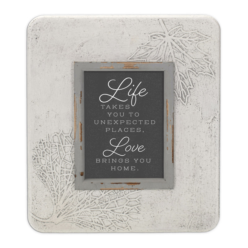 Life Unexpected Places 13.5 x 11.5 Dandelion Impression Wall Art Sign Plaque, Medium
