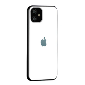 iPhone 11 - Solid Colour Glass Back Case + Tempered Glass