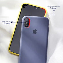 Load image into Gallery viewer, iPhone XS Original Silicone Logo Case