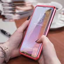 Load image into Gallery viewer, Galaxy Note 9 Electronic Auto-Fit (Front+ Back) Glass Magnetic Case