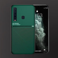 Load image into Gallery viewer, Galaxy A9 2018 Carbon Fiber Twill Pattern Soft TPU Case