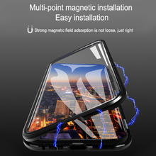 Load image into Gallery viewer, iPhone 11 Pro [2-in-1 Combo] Double Magnetic Case + Camera Lens Protector