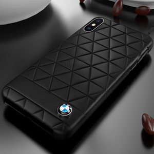 BMW ® iPhone XS Leather Texture Edition Case