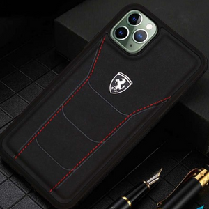 Ferrari ® iPhone All Genuine Leather Crafted Limited Edition Case