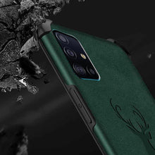 Load image into Gallery viewer, Galaxy M31s Shockproof Deer Leather Texture Case