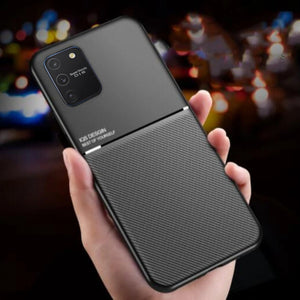 Galaxy S10 Lite Carbon Fiber Twill Pattern Soft TPU Case