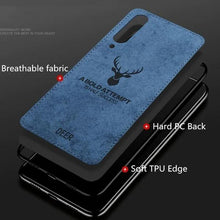 Load image into Gallery viewer, Galaxy A70 (3 in 1 Combo) Deer Pattern  Case + Tempered Glass + Earphones
