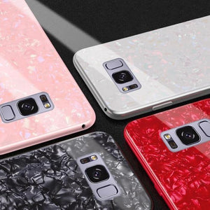 Galaxy S8 (3 in 1 Combo) Dream Shell Case + Tempered Glass + Earphones
