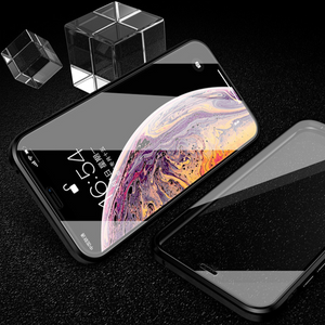 iPhone XS (Front+Back) Protection Magnetic Fit Case