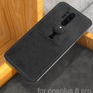 OnePlus 8 Pro (3 in 1 Combo) Deer Case + Hydrogel Film + Camera Lens Guard