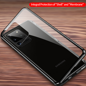 Galaxy A71 (Front+Back) Protection Magnetic Fit Case