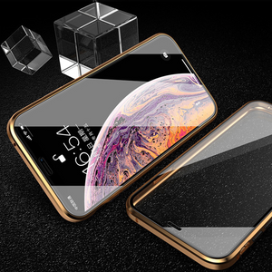 Apple iPhone X Series (Front+Back) Protection Magnetic Fit Case