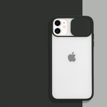 Load image into Gallery viewer, iPhone 11 Pro Camera Lens Slide Protection Matte Case
