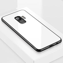 Load image into Gallery viewer, Galaxy S9 Plus (3 in 1 Combo) Glass Back Case + Tempered Glass + Camera Lens Protector