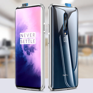 OnePlus 7T Pro (Front+Back) Protection Magnetic Fit Case