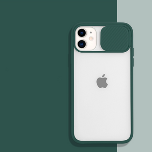 iPhone 11 Pro Camera Lens Slide Protection Matte Case