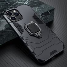 Load image into Gallery viewer, iPhone 11 Series Armour Buckle Kickstand Case