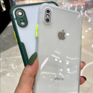 iPhone XR Shockproof Bumper Phone Case with Camera Protection