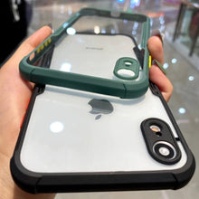 Load image into Gallery viewer, iPhone XR Shockproof Bumper Phone Case with Camera Protection