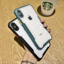 Load image into Gallery viewer, iPhone X Shockproof Bumper Phone Case with Camera Protection