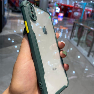 iPhone X Shockproof Bumper Phone Case with Camera Protection
