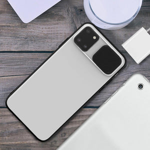 Galaxy Note 10 Lite Camera Lens Slide Protection Matte Case