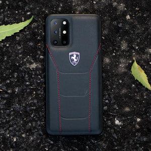 Ferrari ® OnePlus 8T Genuine Leather Crafted Limited Edition Case